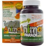 Nature's Plus, Source of Life, Animal Parade, Children's Chewable Multi-Vitamin & Mineral Supplements