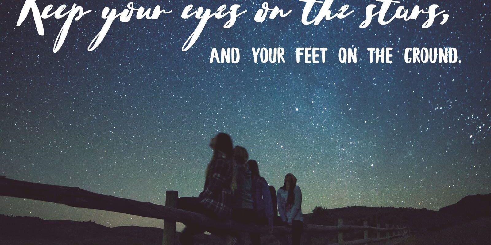 https://MartinaMcGowan.com Eyes on the stars