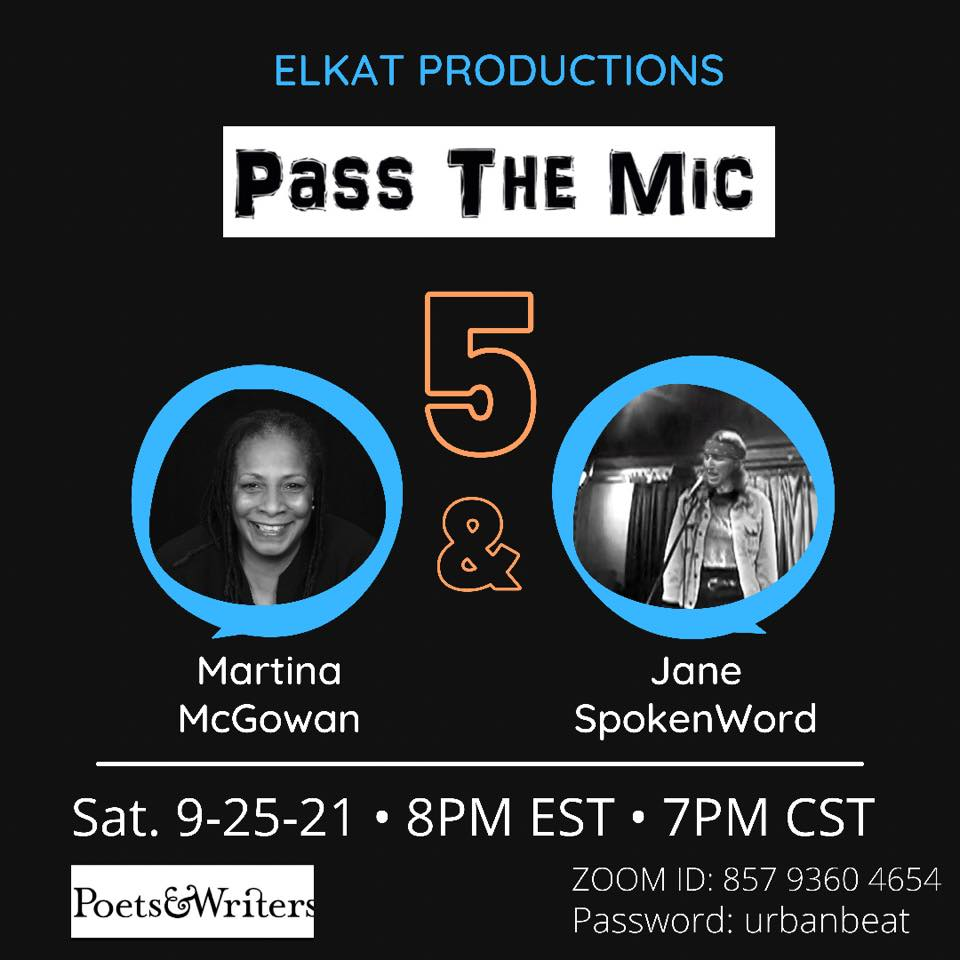 https://MartinaMcGowan.com with Jane SpokenWord pass the mic 5