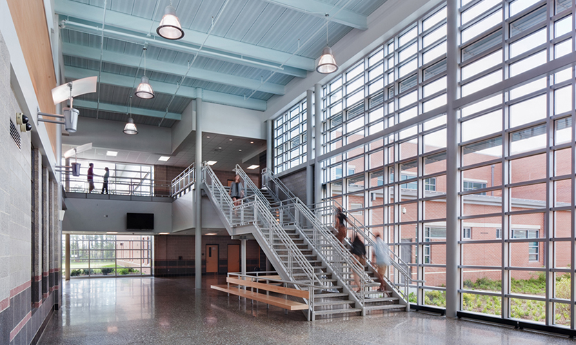 Bennett High School Interior
