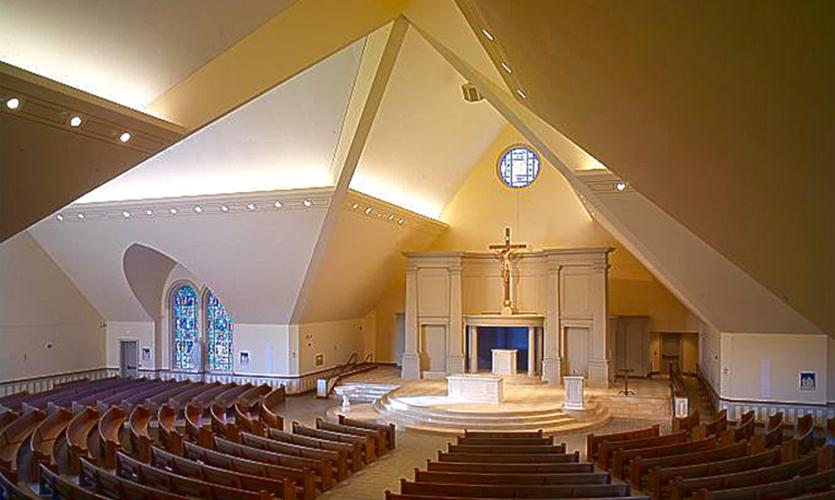 St. Louis Catholic Church Interior
