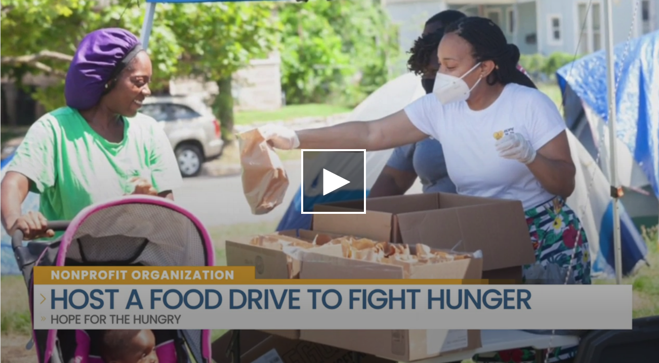 Help Fight Hunger With A Food Drive