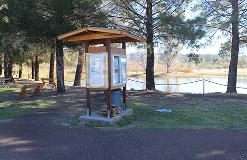 Kiosk in Park