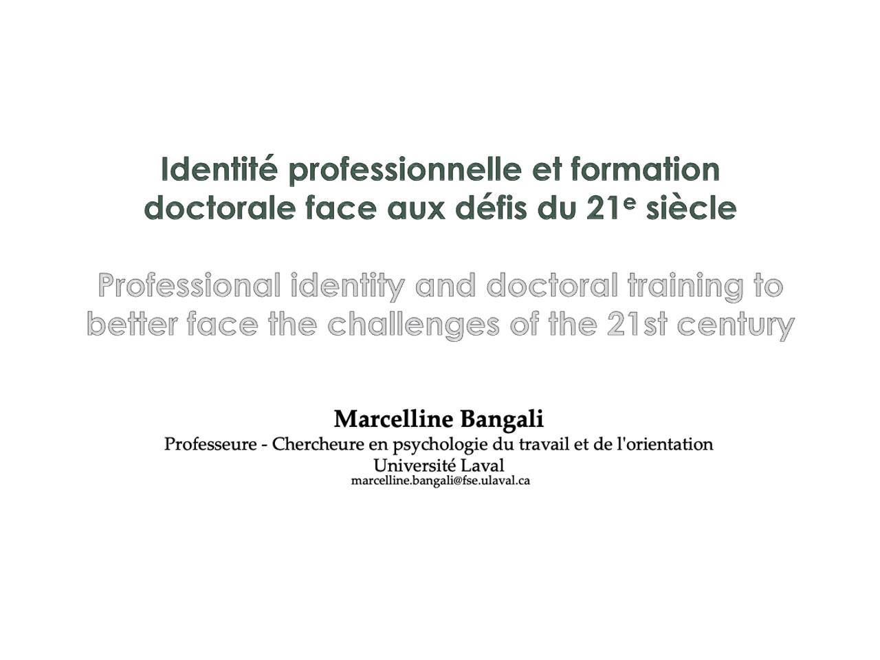 Marcelline Bangali