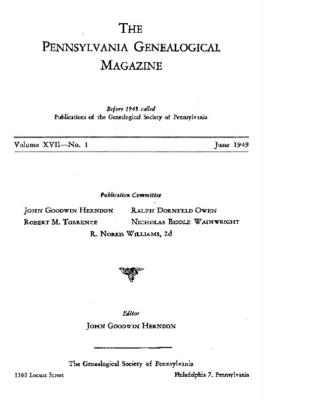 PGM Volume 17 Number 1