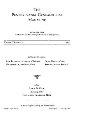 PGM Volume 20 Number 1