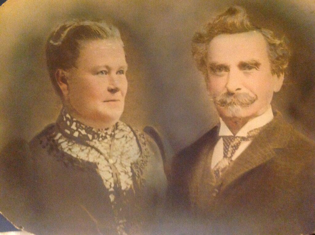 19th century Pennsylvania German Couple