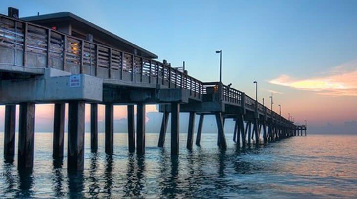 Dania Beach fishing pier