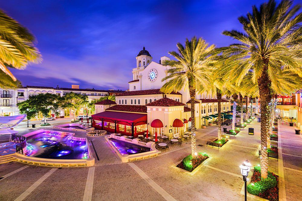 West Palm Beach Florida Local Restaurants City Place