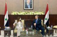 زيارة وفد وزاري لبناني الى دمشق للبحث في موضوع استجرار الغاز المصري الى لبنان عبر سوريا
