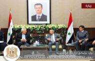 مدير المراسم في الخارجية السورية يتلقى ملاحظة بسبب العلم اللبناني