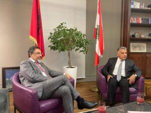 مع وزير الداخلية الالباني