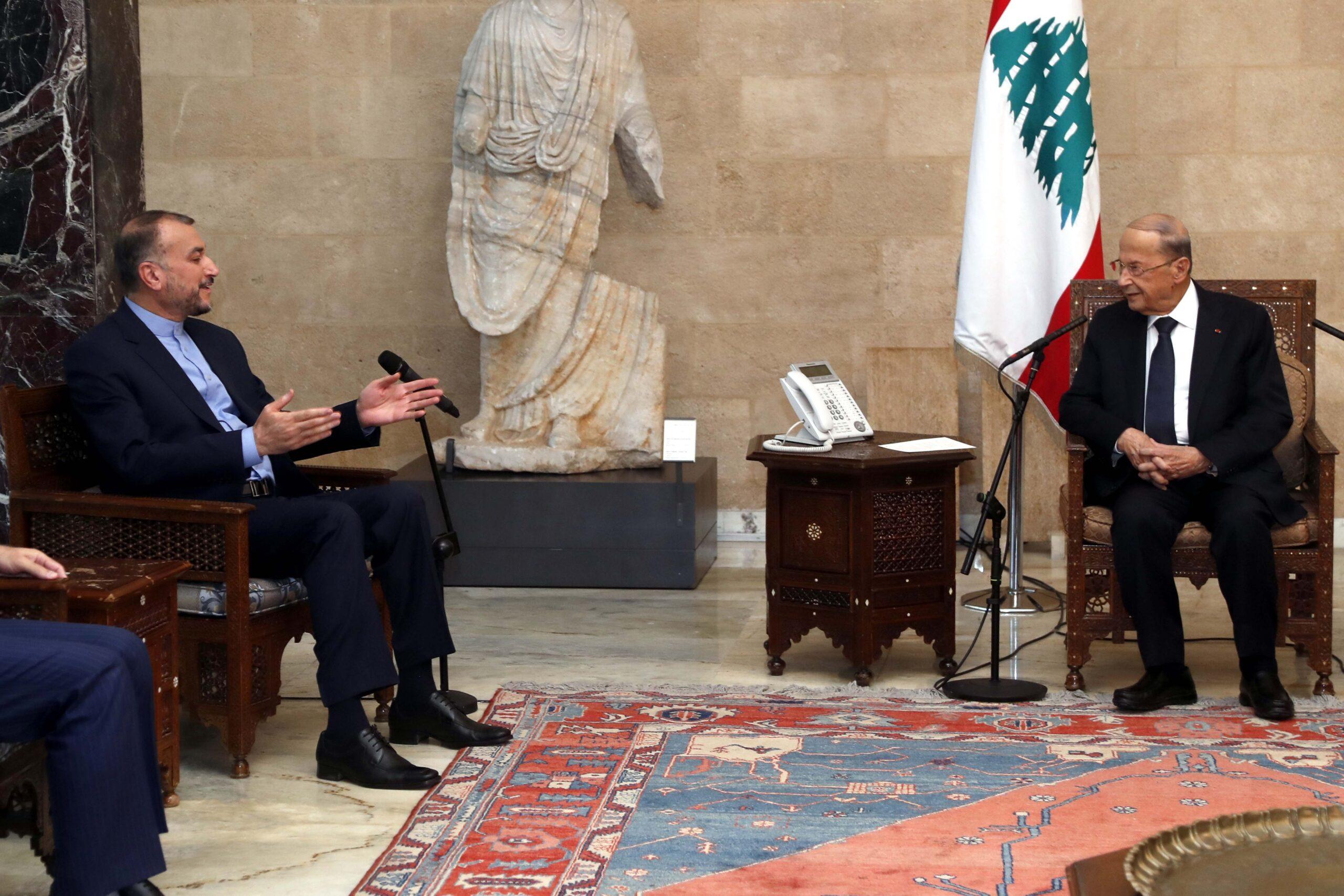 وزير خارجية ايران حسين أمير عبد اللهيان:  الشركات الايرانية مستعدّة لبناء معملين لانتاج الكهرباء في بيروت والجنوب واعادة بناء المرفأ
