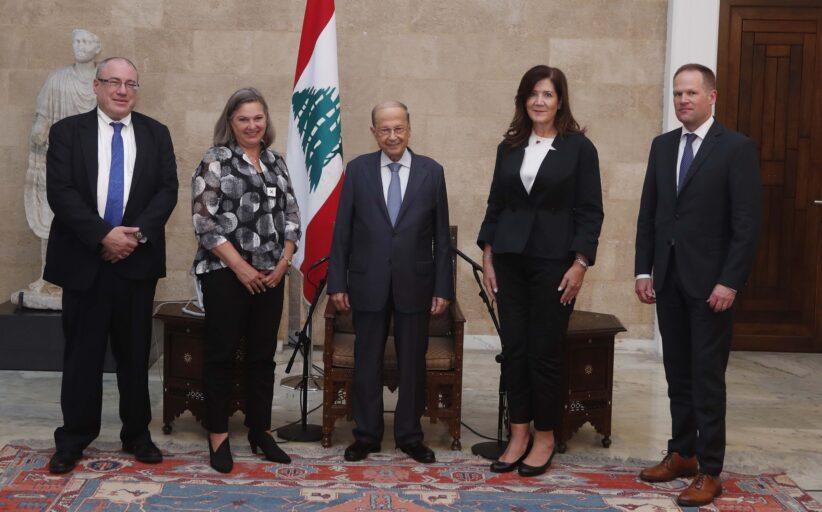 فيكتوريا نولاند في بيروت: الترسيم أولا واستثناء من قانون قيصر