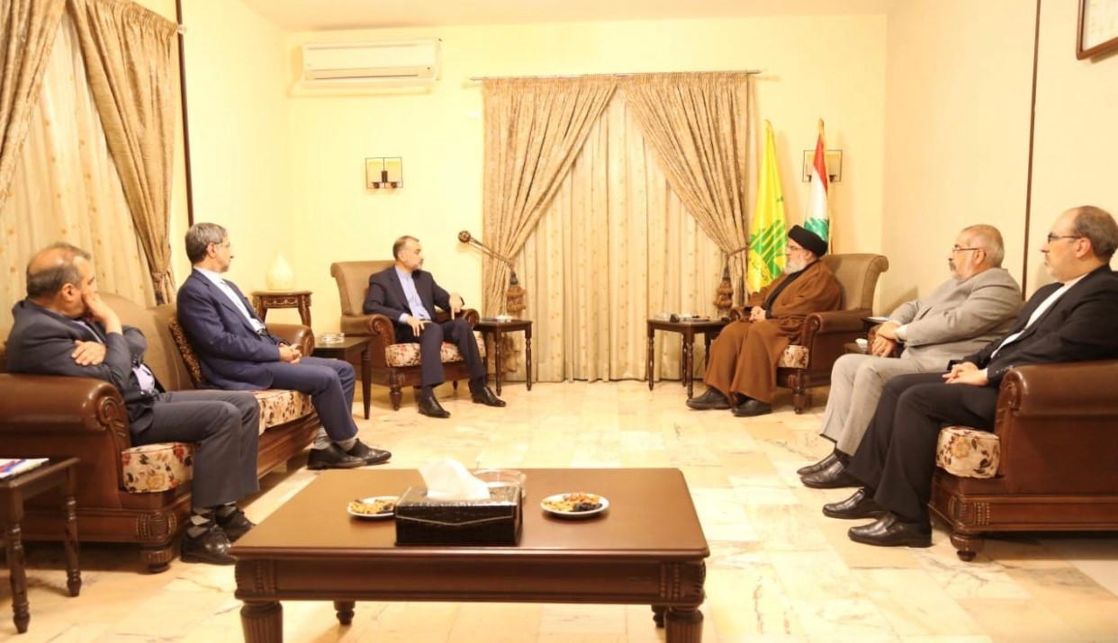 عبد اللهيان بعد لقائه السيد نصر الله: إيران اثبتت انها صديق وفي للبنان