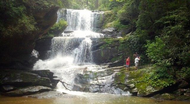Little Bradley Falls Saluda NC