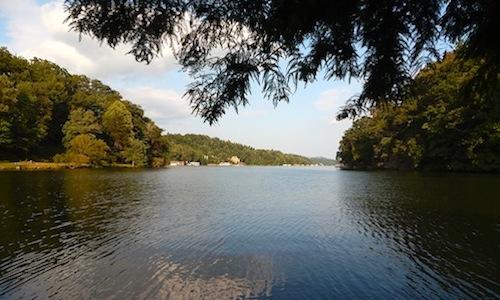 View Down Lake Lure