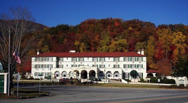 The Historic 1927 Lake Lure Inn and Spa
