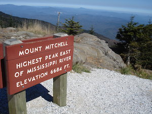 Mount Mitchell Blueridge Parkway