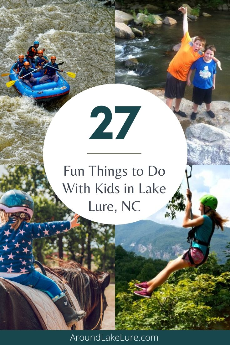 Things to Do With Kids in Lake Lure, NC