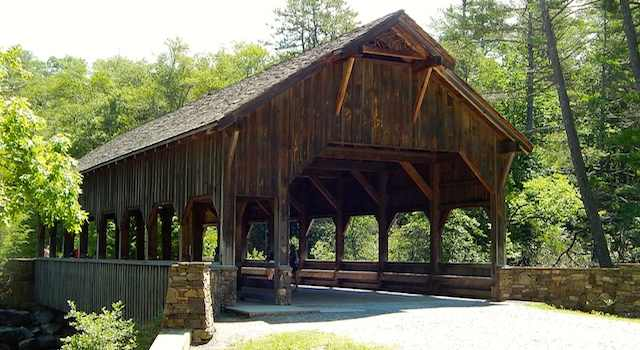 Covered Bridge DuPont State Forest