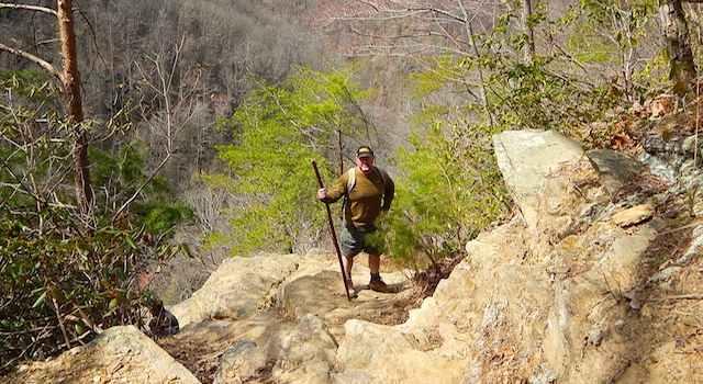 Rock Ledge with Stunning Views by Big Bradley Falls