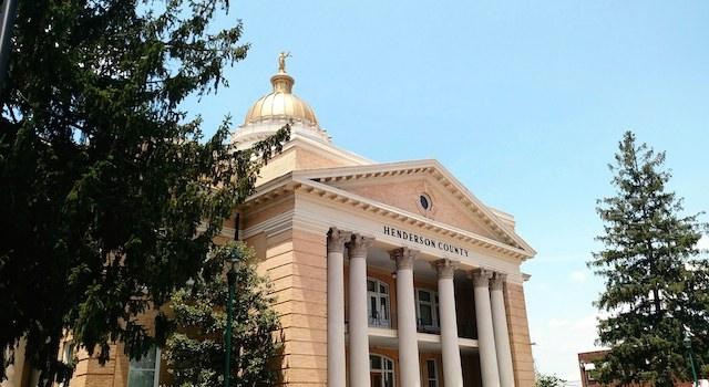 Hendersonville NC Court House