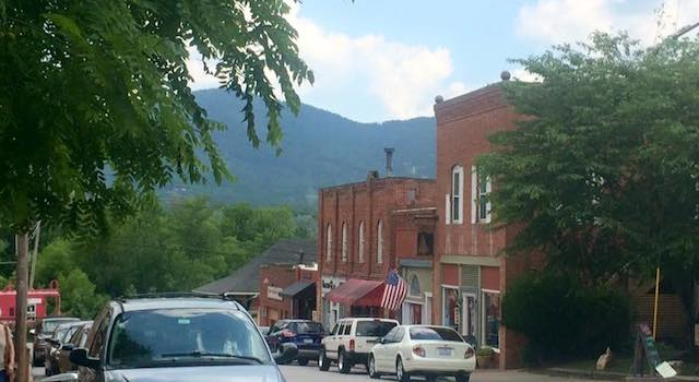 Black Mountain Downtown