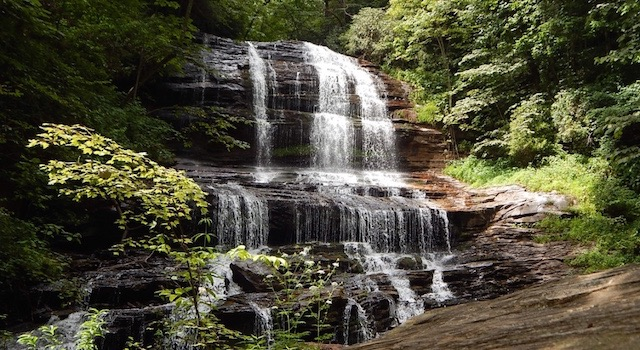Pearson's Falls Saluda North Carolina