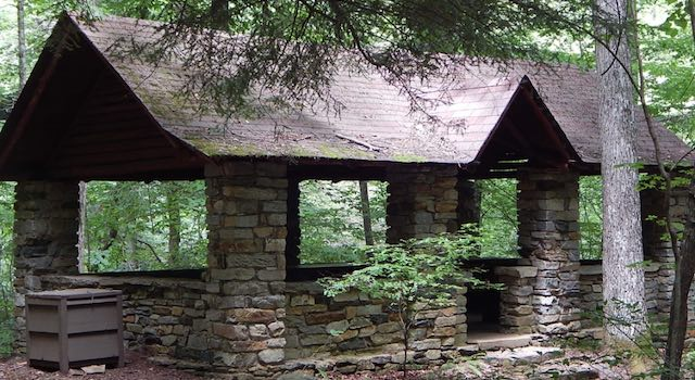 Picnic Area at Pearson's Falls