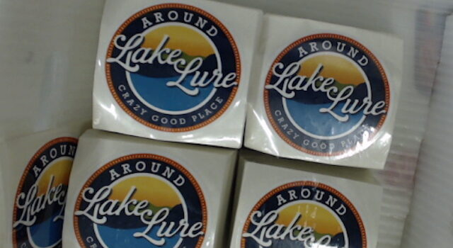 Around Lake Lure Crazy Good Place Stickers