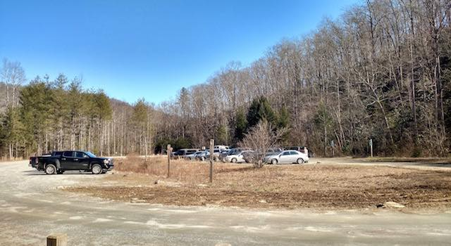 Catawba Falls NC Parking