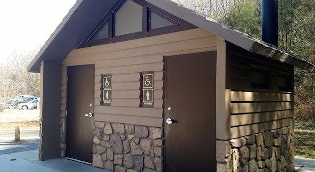 Catawba Falls NC Restroom Facilities