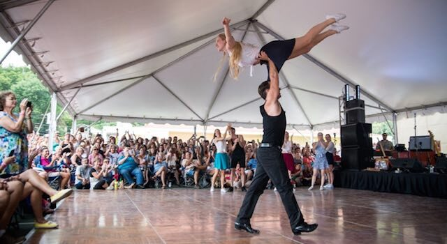 Asheville Ballet at Dirty Dancing Festival