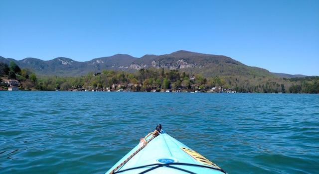 Kayak Lake Lure
