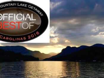 lake lure best mountain lake getaway