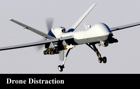 Drone Distraction