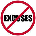 No More Excuses