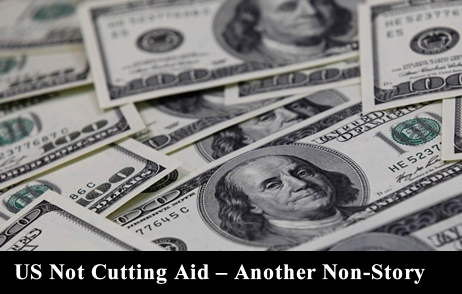 US not cutting aid