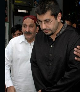 Chief Justice with his son