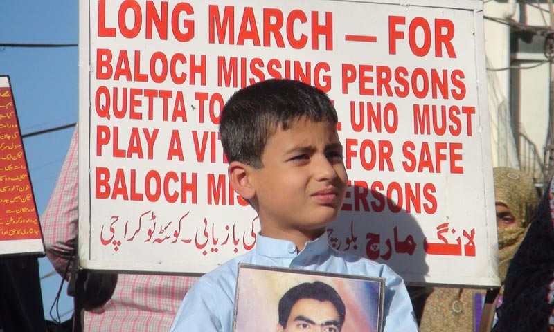 Long march for missing Baloch
