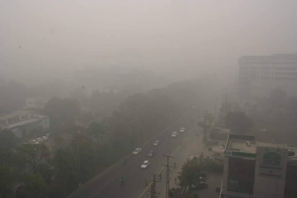 Smog of Lahore