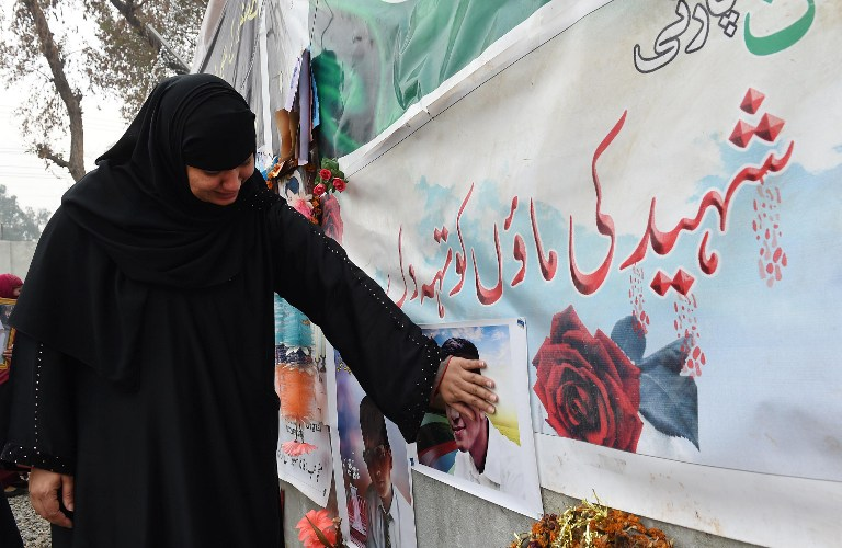 Mother of APS Martyr