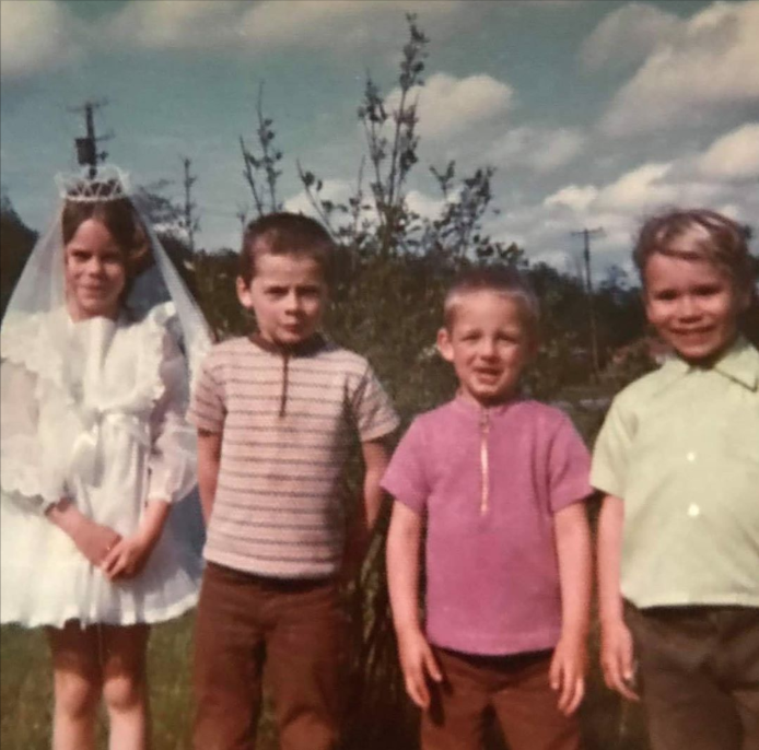 My cousins First Communion.  Which one am I?