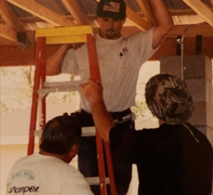 Mission trip to Tuba City on the Navajo Nation about 1998.