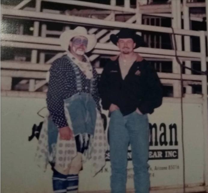 Mr. Lucky's around 1996 or 97 with my friend Luke Kraut.