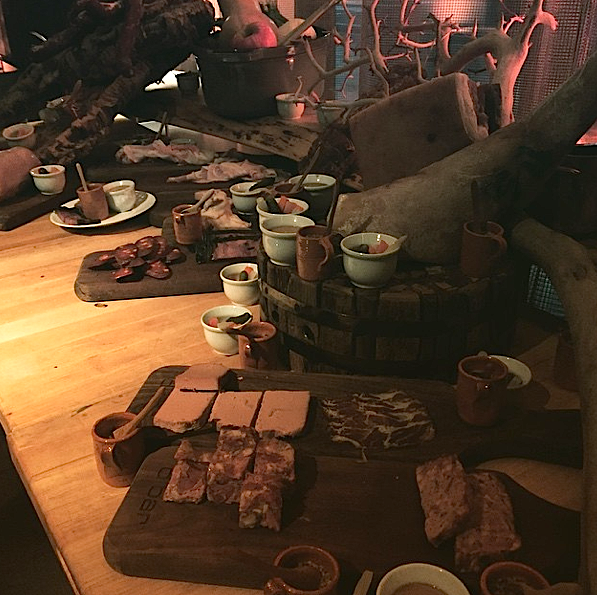 The Charcuterie Night Spread at d Bar.