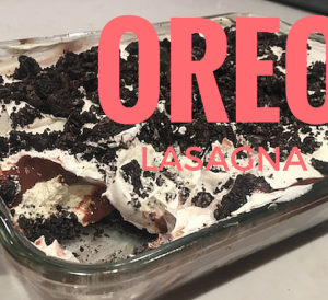 Oreo Lasagna Recipe