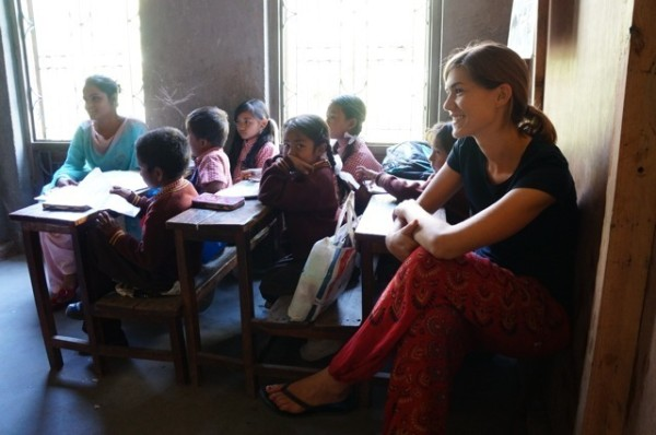 Teaching in Nepal with Unearth the World