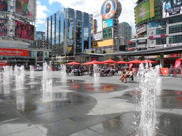 Water Parks and Splash Pads Toronto